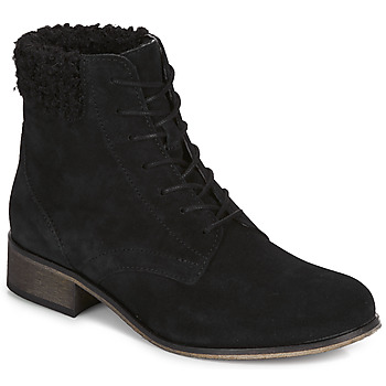 Schoenen Dames Laarzen André GODILLETTE Zwart