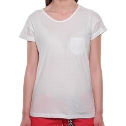 Textiel Dames T-shirts korte mouwen Sun Valley  Wit