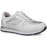 Schoenen Dames Lage sneakers Calzamedi DEPORTIVAS  LEOPARD W PLATA