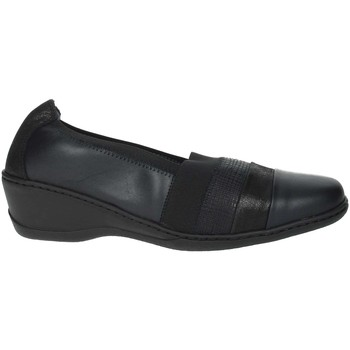 Schoenen Dames Mocassins Notton 2237 Black