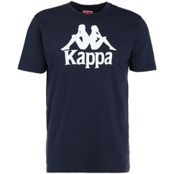 Textiel Heren T-shirts korte mouwen Kappa Caspar Tshirt Bleu marine