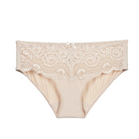 Ondergoed Dames Slips PLAYTEX FLOWER ELEGANCE Beige