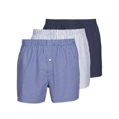 Ondergoed Heren BH's Lacoste 7H3394-8X0 Wit / Blauw