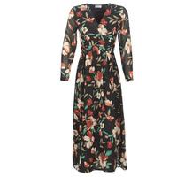 Textiel Dames Lange jurken Betty London LIMBA Zwart / Multikleuren