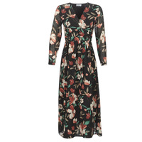 Textiel Dames Lange jurken Betty London LIMBA Zwart / Multicolour