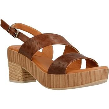 Schoenen Dames Sandalen / Open schoenen Mikaela 17071 Bruin
