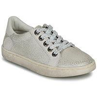 Schoenen Meisjes Lage sneakers Kickers LYKOOL Grijs / Zilver / Leopard