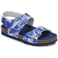 Schoenen Jongens Sandalen / Open schoenen Kickers SUMMERKRO Blauw