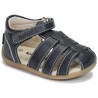 Schoenen Jongens Sandalen / Open schoenen Kickers BIGFLO-3 Marine