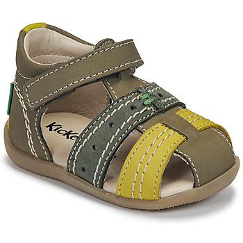 Schoenen Kinderen Sandalen / Open schoenen Kickers BIGBAZAR-3 Groen