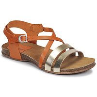 Schoenen Dames Sandalen / Open schoenen Kickers ANATOMIUM  camel / Goud