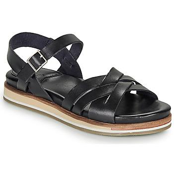 Schoenen Dames Sandalen / Open schoenen Kickers OLIMPIK Zwart
