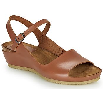 Schoenen Dames Sandalen / Open schoenen Kickers TAKIKA Brown