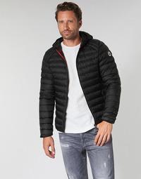 Textiel Heren Dons gevoerde jassen JOTT NICO Zwart