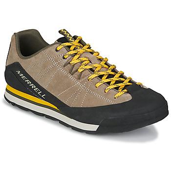 Schoenen Heren Lage sneakers Merrell CATALYST SUEDE Beige / Zwart