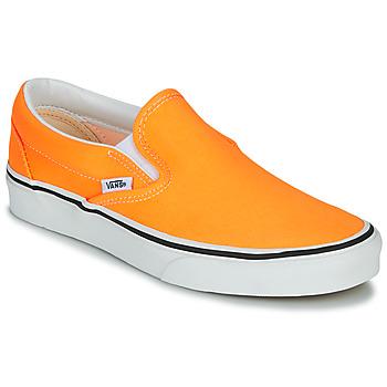 Schoenen Dames Instappers Vans CLASSIC SLIP-ON NEON Orange