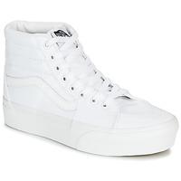 Schoenen Dames Hoge sneakers Vans SK8-HI PLATFORM 2.0 Wit