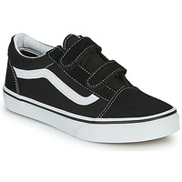 Schoenen Kinderen Lage sneakers Vans OLD SKOOL V Zwart / Wit