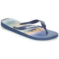Schoenen Heren Slippers Havaianas HYPE Marine