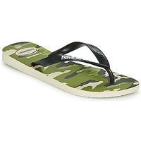 Schoenen Heren Slippers Havaianas TOP CAMU Groen