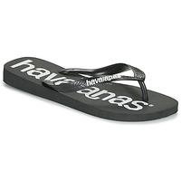 Schoenen Heren Slippers Havaianas TOP LOGOMANIA  zwart