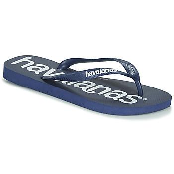 Schoenen Slippers Havaianas TOP LOGOMANIA Navy / Blauw