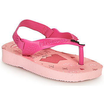 Schoenen Meisjes Slippers Havaianas BABY DISNEY CLASSICS II Roze