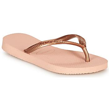 Schoenen Meisjes Slippers Havaianas SLIM Roze