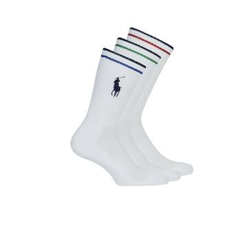 Accessoires Heren Sokken Polo Ralph Lauren 3PK BPP-SOCKS-3 PACK Wit