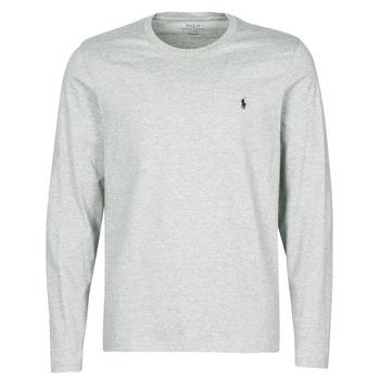 Textiel Heren T-shirts met lange mouwen Polo Ralph Lauren L/S CREW-CREW-SLEEP TOP Grijs