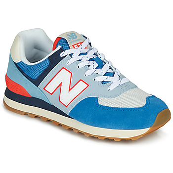 Schoenen Lage sneakers New Balance 574 Blauw / Grey / Orange