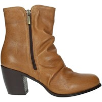 Schoenen Dames Laarzen Elena Del Chio 5803 Brown leather