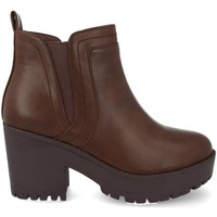 Schoenen Dames Low boots Prisska Y5651 Marron