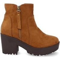 Schoenen Dames Low boots Prisska Y5652 Camel