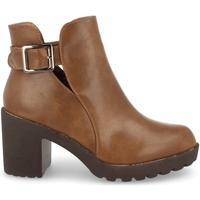 Schoenen Dames Low boots Prisska YC8203 Taupe