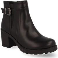 Schoenen Dames Enkellaarzen Prisska Y5653 Negro