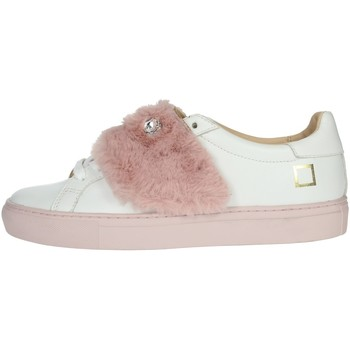 Schoenen Dames Lage sneakers Date I19-51 White/Pink
