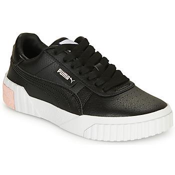 Schoenen Meisjes Lage sneakers Puma CALI Zwart