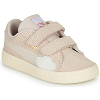 Schoenen Meisjes Lage sneakers Puma SUEDE Roze