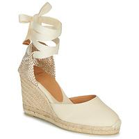 Schoenen Dames Sandalen / Open schoenen Castaner CARINA Creme