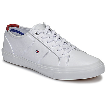 Schoenen Heren Lage sneakers Tommy Hilfiger CORE CORPORATE FLAG SNEAKER Wit