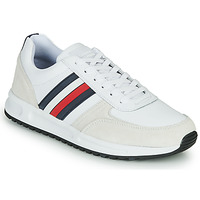 Schoenen Heren Lage sneakers Tommy Hilfiger MODERN CORPORATE LEATHER RUNNER Wit