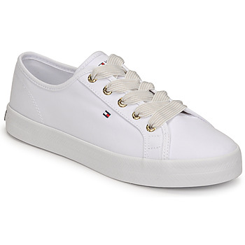 Schoenen Dames Lage sneakers Tommy Hilfiger ESSENTIAL NAUTICAL SNEAKER Wit
