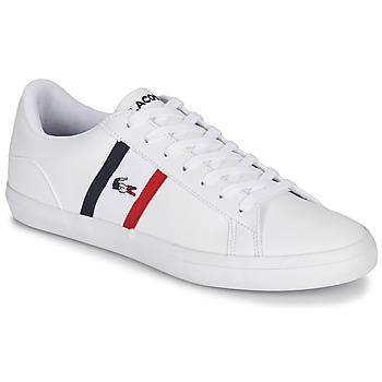 Schoenen Heren Lage sneakers Lacoste LEROND TRI1 CMA Wit / Blauw / Rood