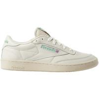 Schoenen Lage sneakers Reebok Sport Club c 1985 tv Beige