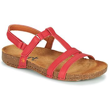 Schoenen Dames Sandalen / Open schoenen Art I BREATHE Rood