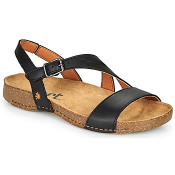 Schoenen Dames Sandalen / Open schoenen Art I BREATHE Zwart