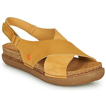 Schoenen Dames Sandalen / Open schoenen Art RHODES Mosterd