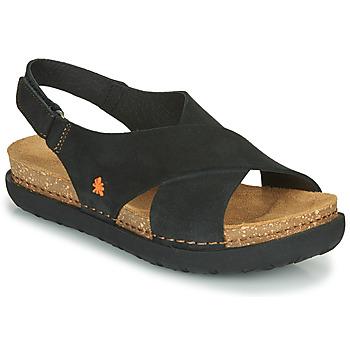 Schoenen Dames Sandalen / Open schoenen Art RHODES Zwart