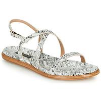 Schoenen Dames Sandalen / Open schoenen Neosens AURORA Wit / Zilver